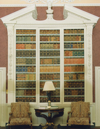 Library used by Louis XVIII